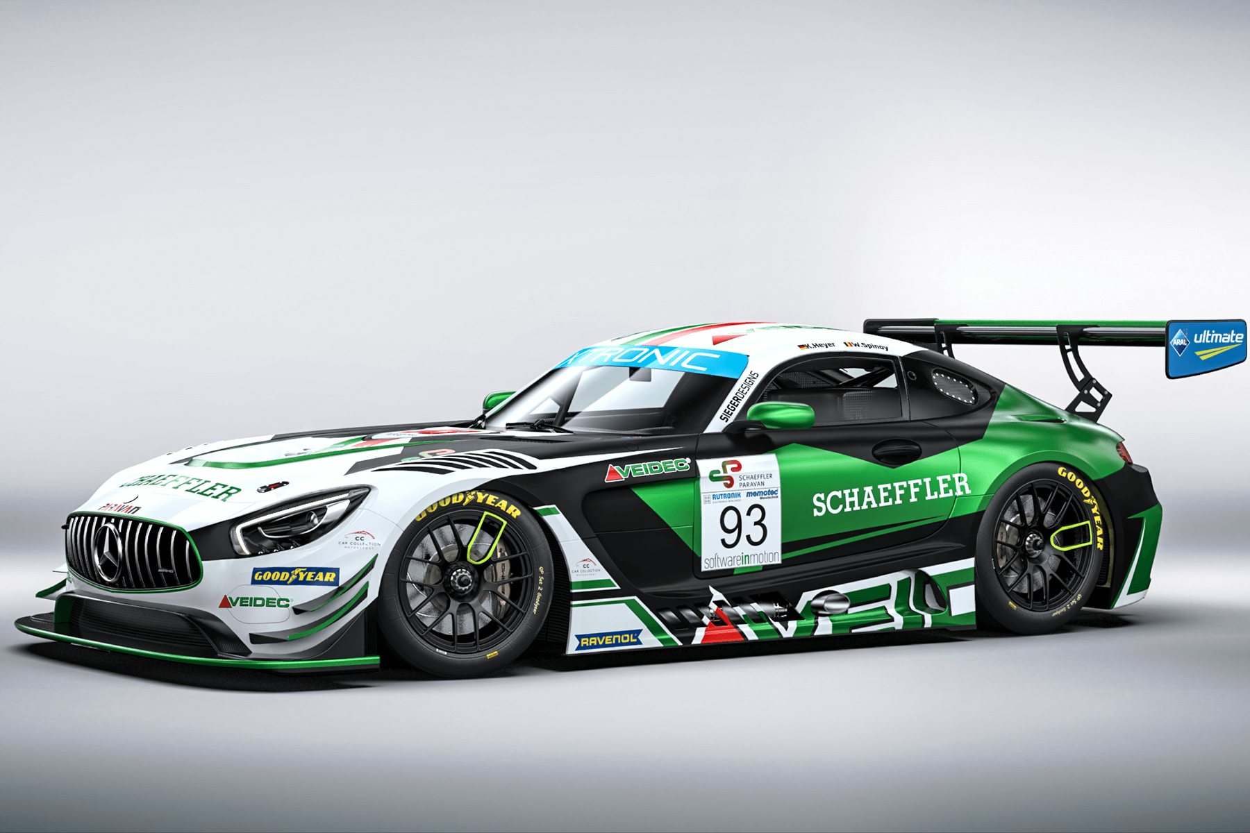 2020 CarCollection Mercedes AMG GT3 GTC Race