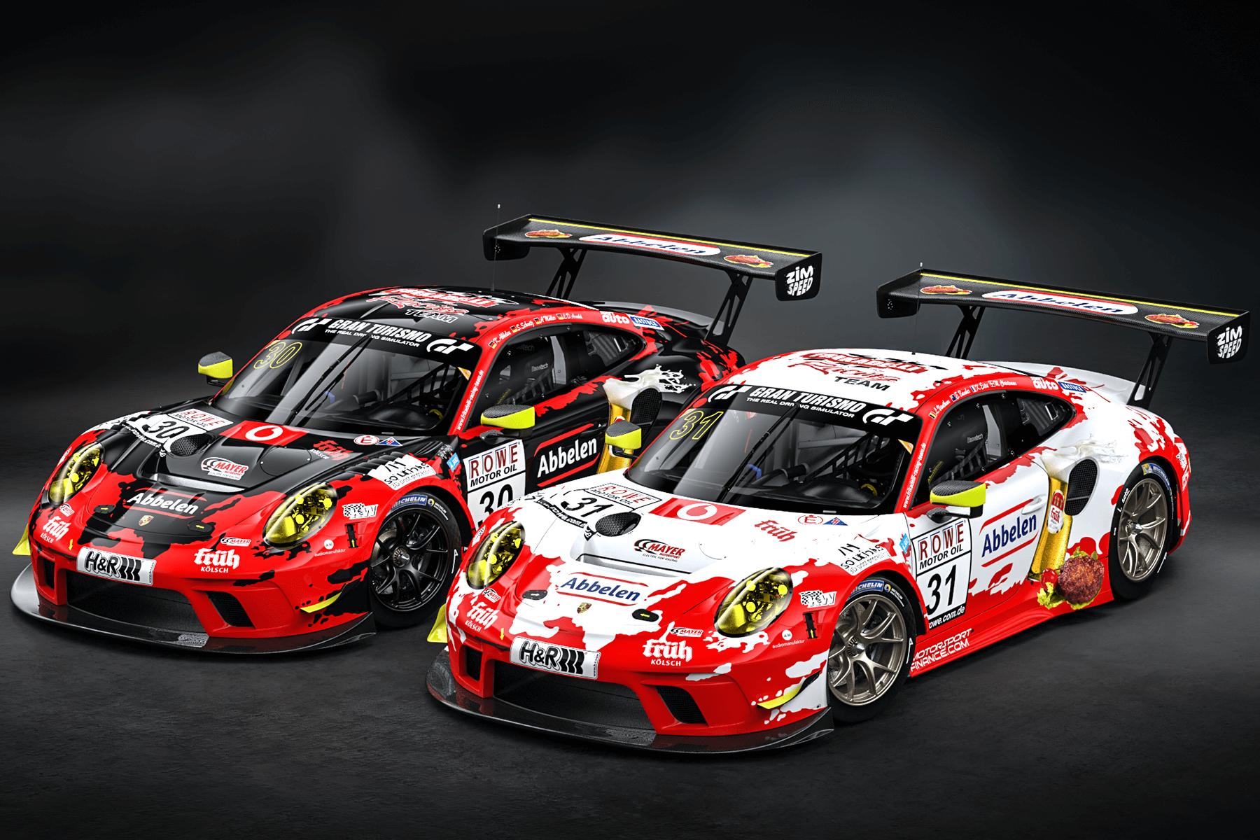 2020 Frikadelli Racing Porsche GT3 R NLS