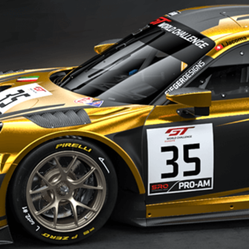 A core service of Siegerdesigns is 3D livery design