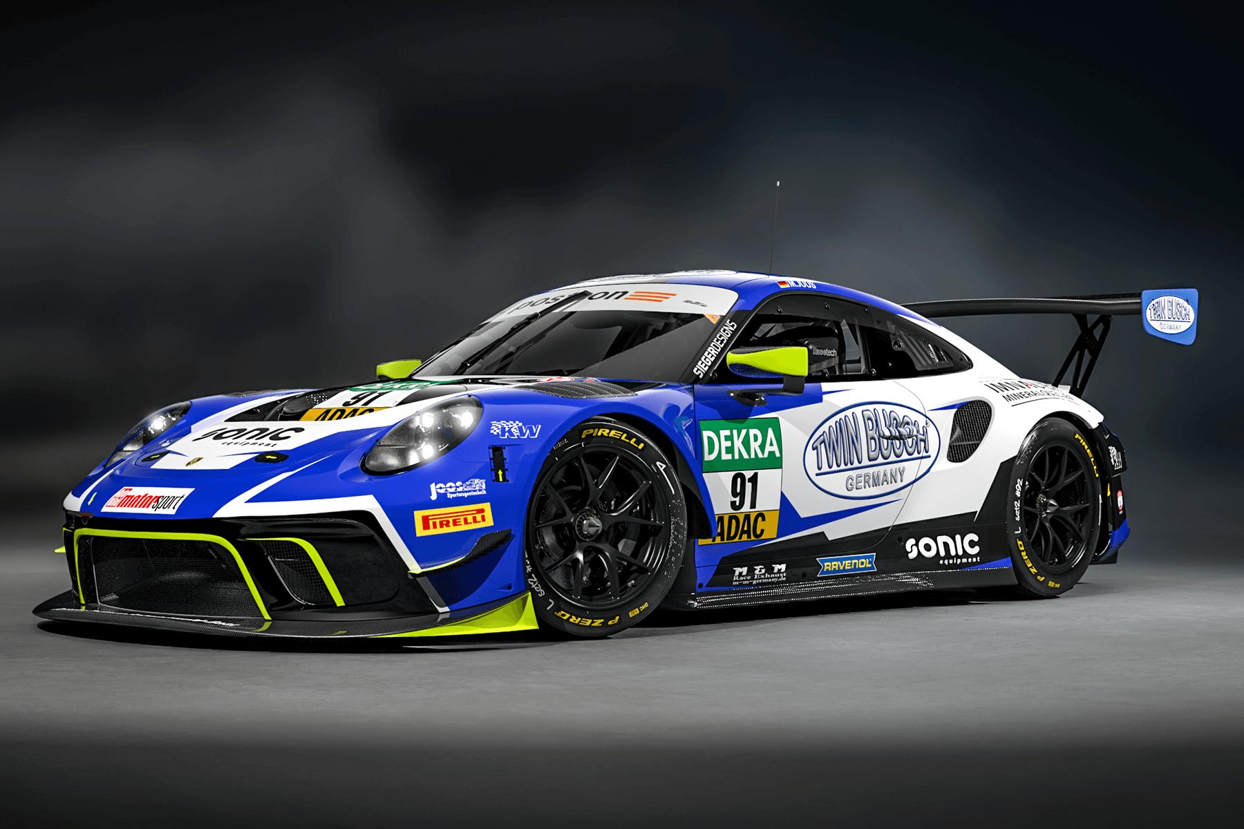 2020 JOOS Sportwagen Porsche 911 GT3 R ADAC GT Masters